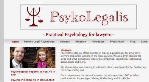PsykoLegalis screenshot